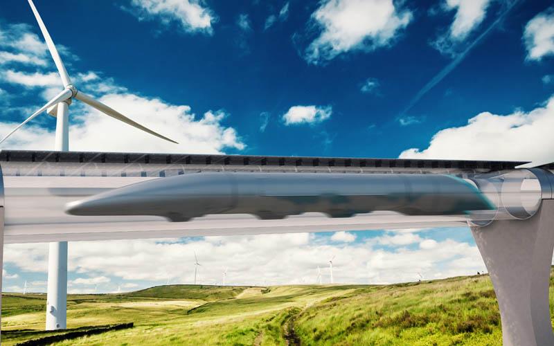 hyperloop parigi amsterdam