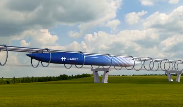 hyperloop parigi amsterdam in 30 minuti