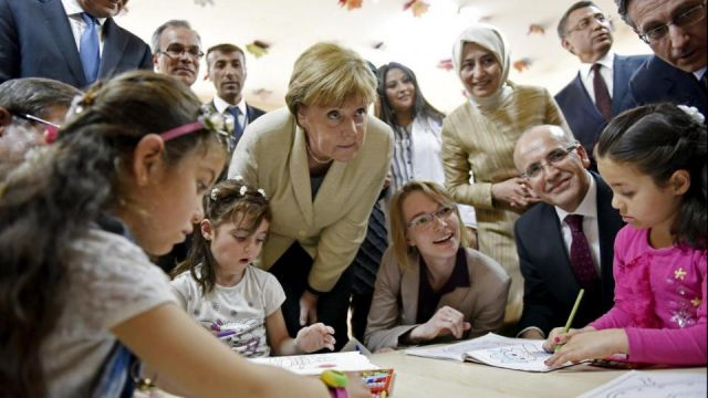 Merkel In Turchia