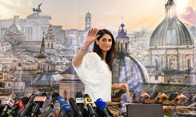 virginia raggi è il nuovo sindaco di Roma