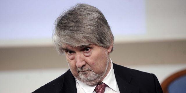 Ministro del Lavoro Giuliano Paoletti - riforma delle pensioni