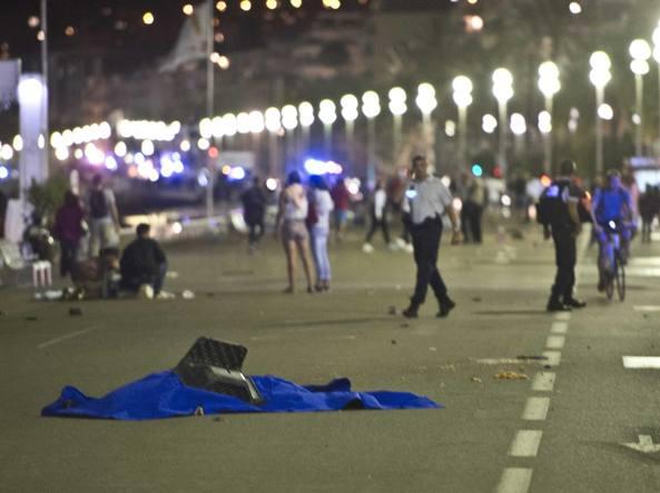 Tantissime le vittime dell'attentato a Nizza