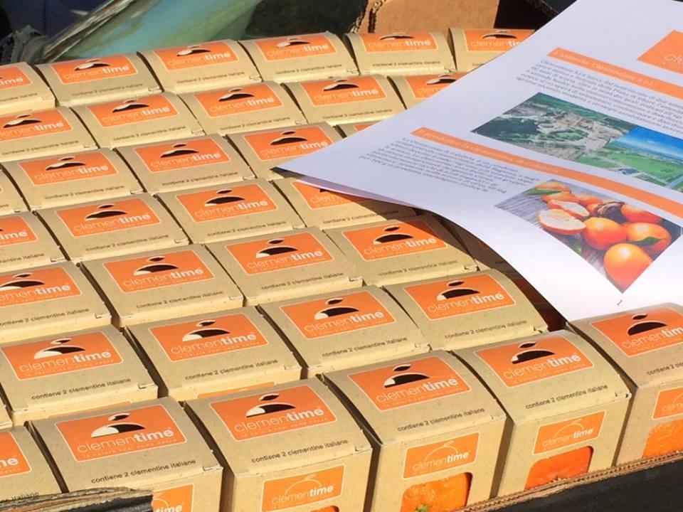 mandarini clementime nei distributori automatici