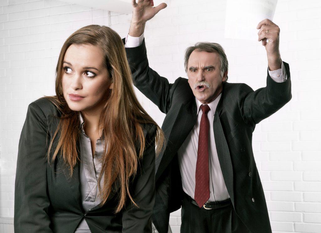 VITA DA UFFICIO: Il capo si arrabbia: come rispondere?