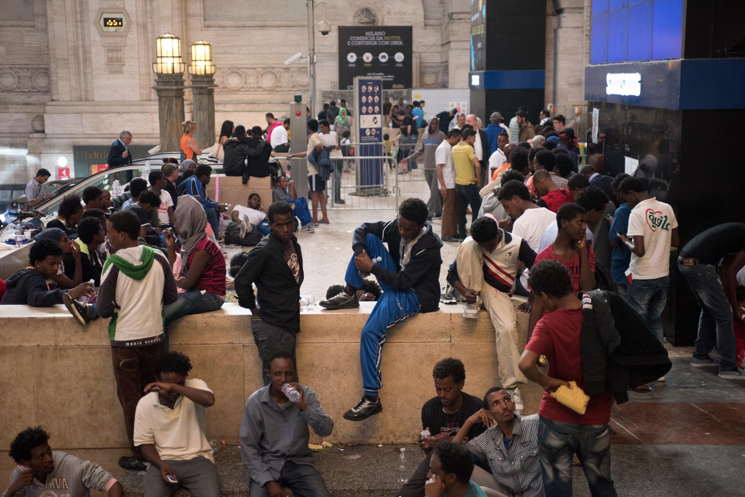 Emergenza immigrati a Milano