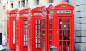telephone box london