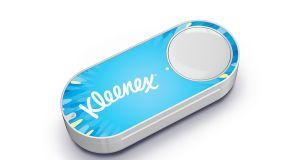 Amazon Dash Button kleenex