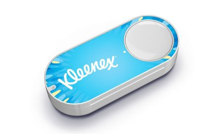 Amazon Dash Button kleenex