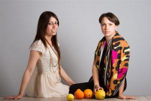 tessuto dalle arance