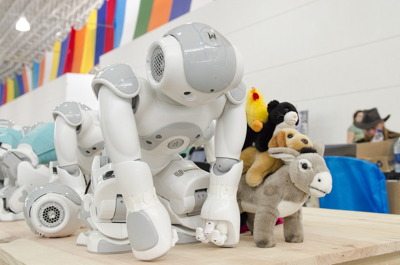 smart toy robot