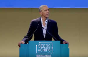 Obama a Milano con Sam Kess