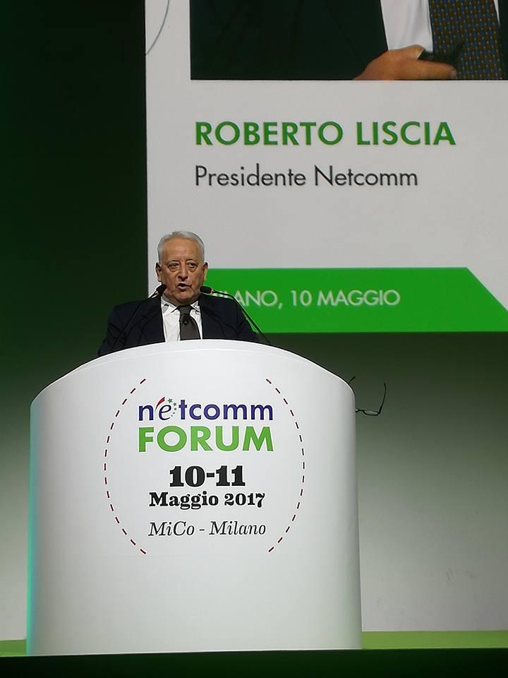 e-commerce italiano, Roberto Liscia presidente Netcomm