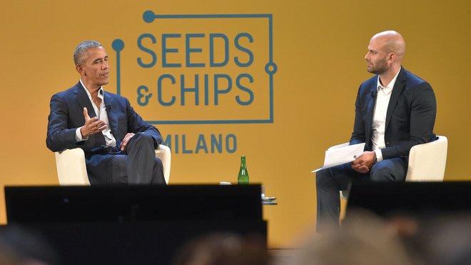 Obama a Milano con Sam Kess