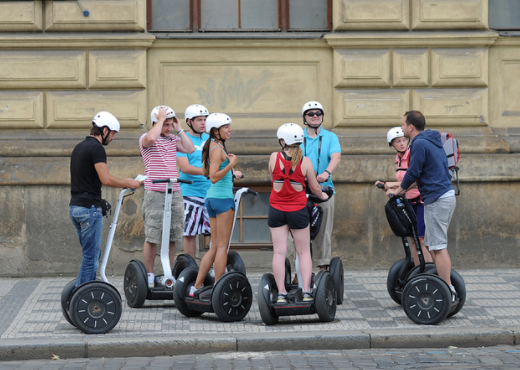 hoverboard - tour in segway