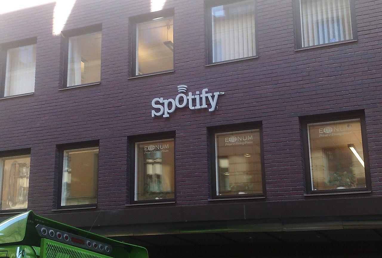 La sede di Spotify