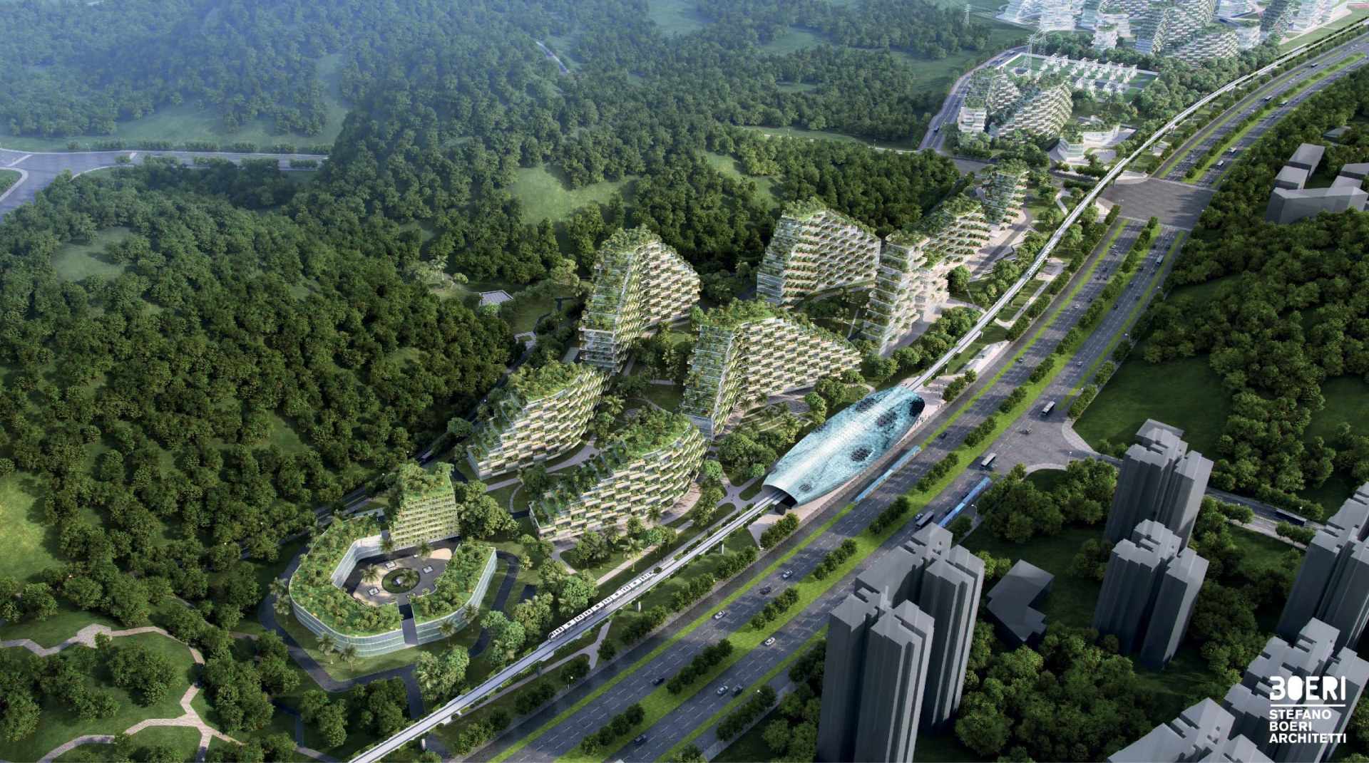 La città-foresta di Liuzhou