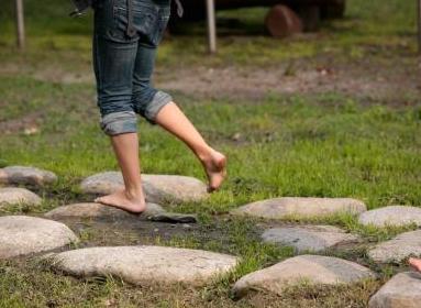 piedi nudi - percorso di Barefooting