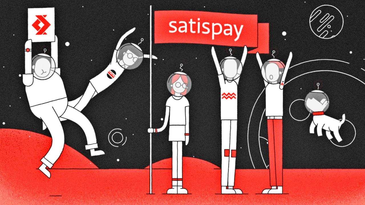 mobile payment video di Satispay