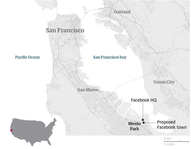 Gli appartamenti nella Silicon Valley dislocati in più zone
