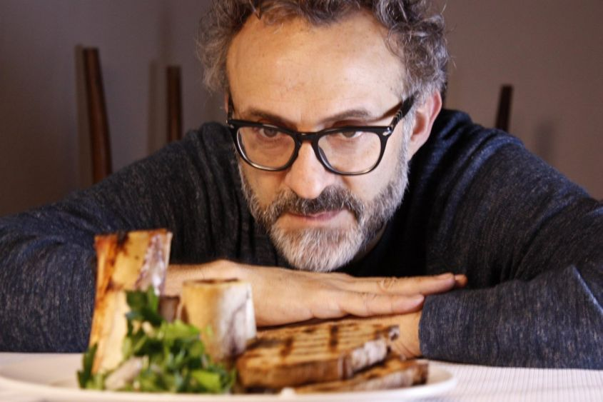 Massimo Bottura:altro volto noto tra gli chef stellati italiani