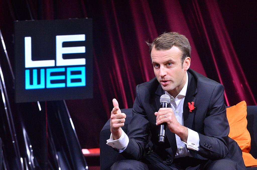 Station F, il presidente Macron