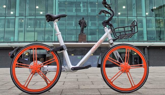 bike sharing - una bicicletta Mobike