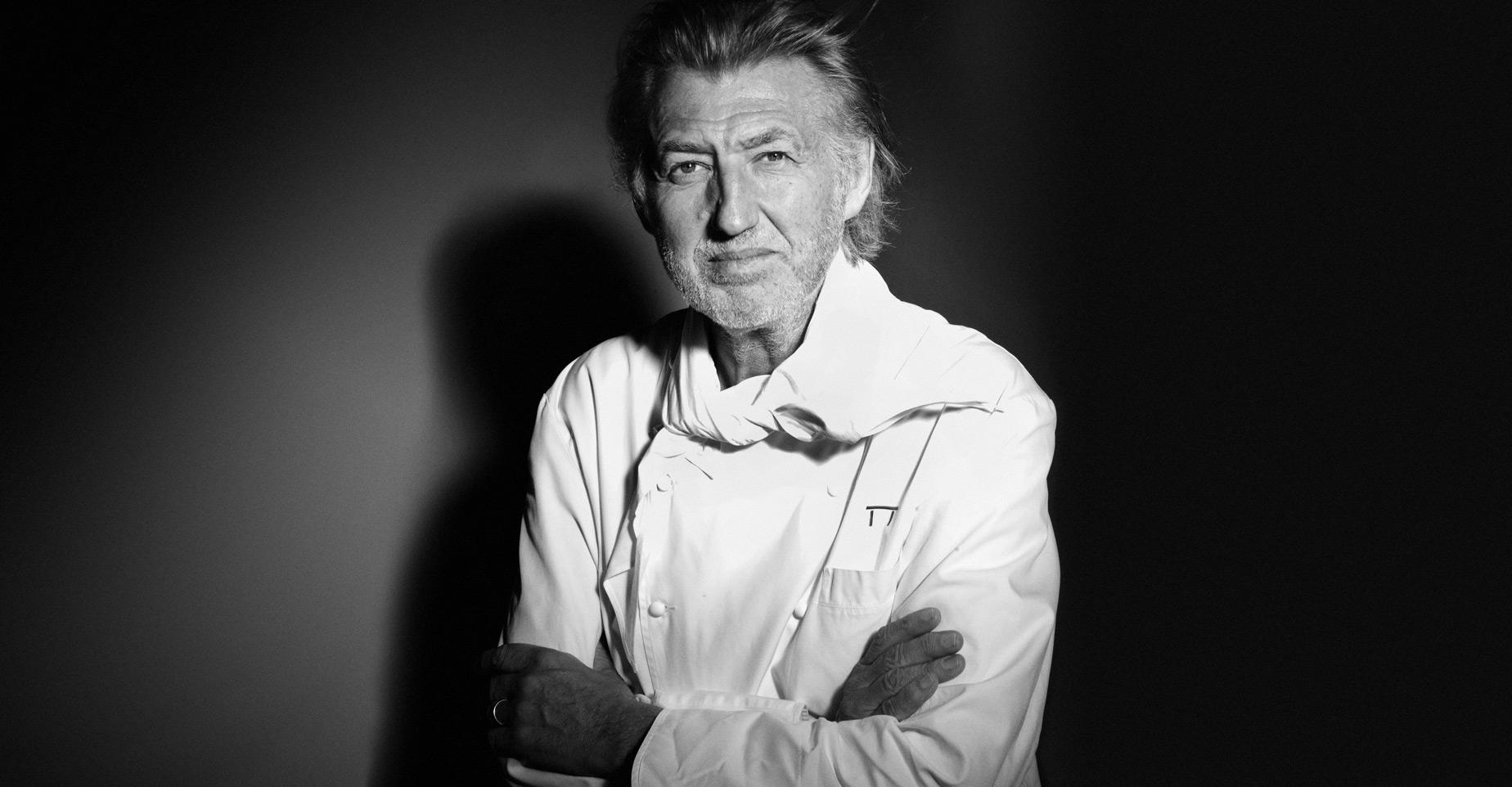 Pierre-Gagnaire i top chef del mondo num 3
