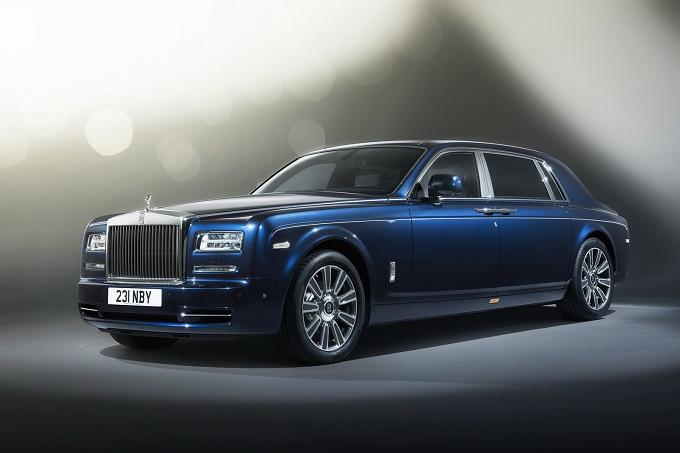 rolls-royce il nuovo modello phantom