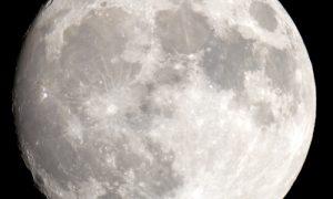 acqua sulla luna