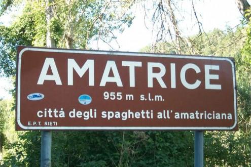 amatrice città degli spaghetti all'amatriciana