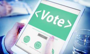 Facebook e il voto elettronico