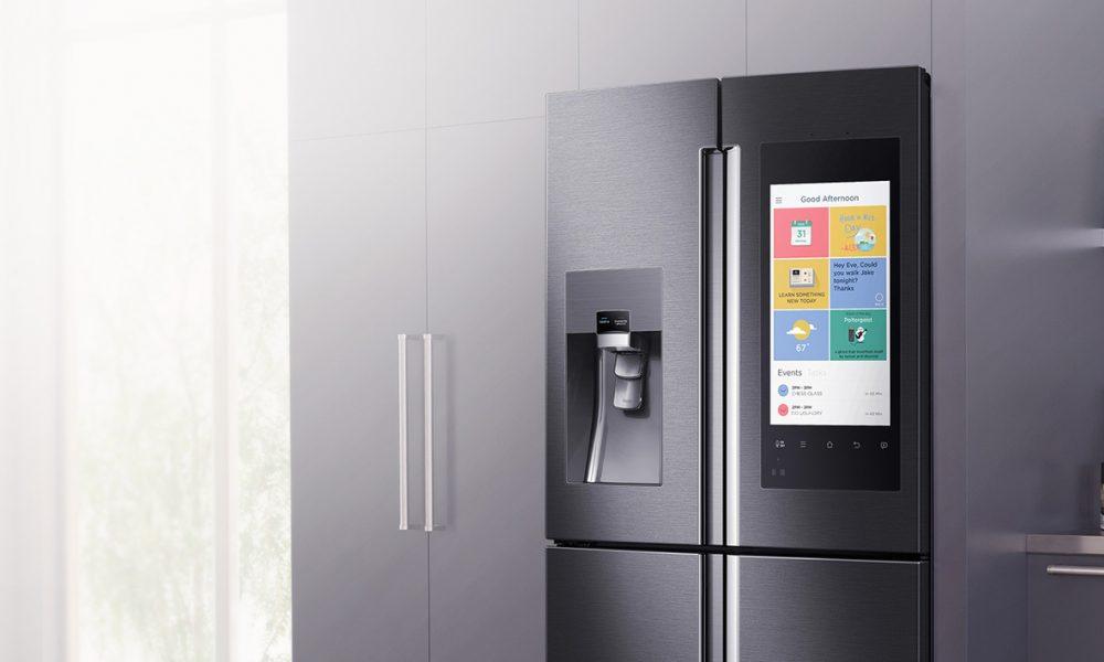 frigorifero 2.0 samsung presenta family hub il frigorifero del futuro