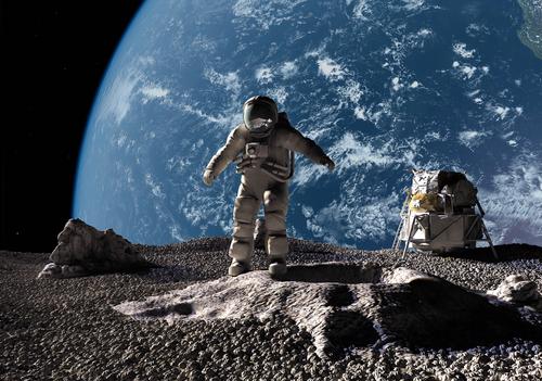 scoperta caverna sulla luna potrebbe diventare base spaziale