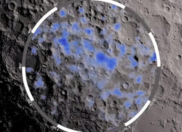 particelle di vetro sulla luna potrebbero contenere acqua