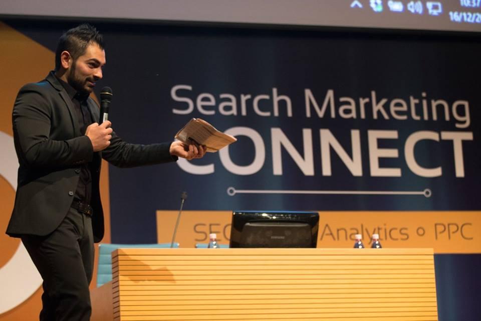 Cosmano al Web Marketing Festival