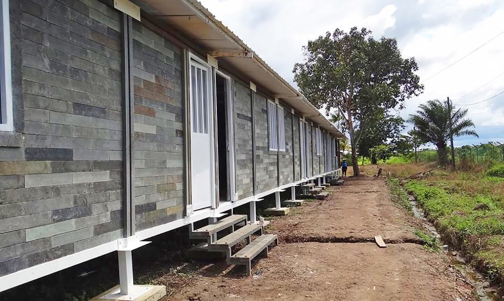 Casa creata in maniera ecologica