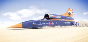 auto supersonica velocità di 1600 km:h