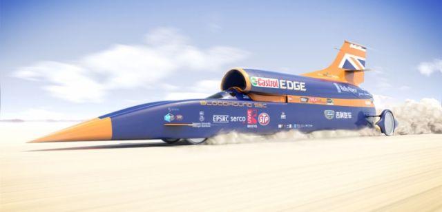 auto supersonica raggiungerà i 1600 orari