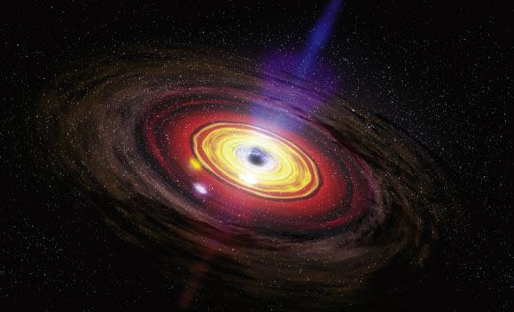 La nostra galassia ha 100 milioni di buchi neri
