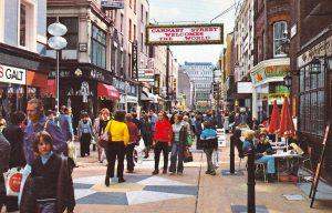 Le high streets di Londra sono sempre meno numerose a causa dell
