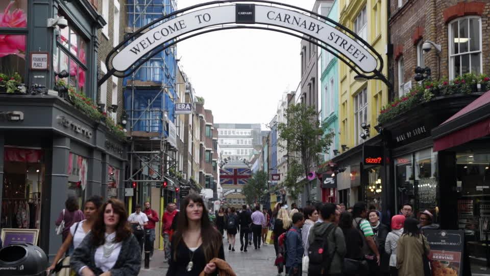 Carnaby street ai tempi dell'e-commerce