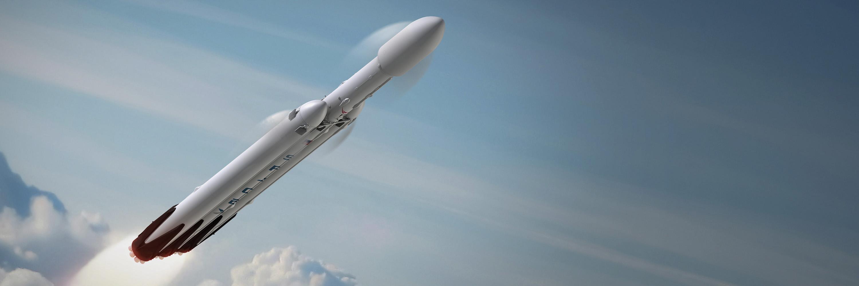 falcon heavy pronto per il lancio