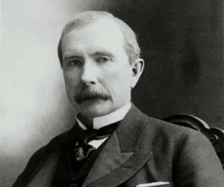 Tra gli uomini più ricchi del mondo c'è John D. Rockfeller