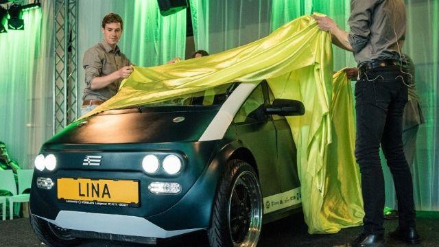 lina auto biodegradabile idea dall'olanda