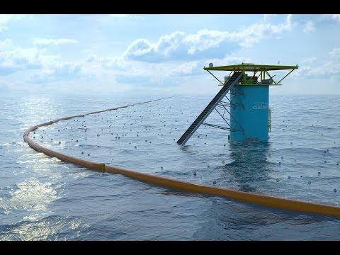Boyan Slat ha inventato un braccio meccanico che ripulisce i mari dalla plastica