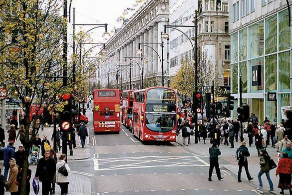 Oxford Street ai tempi dell'e-commerce