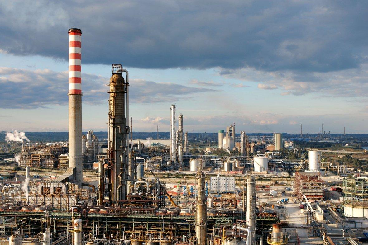 raffineria green refinery di gela