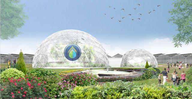 progetto sfera la serra innovativa