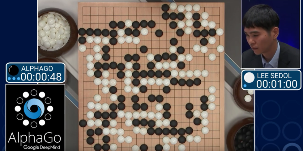 alphago programma intelligenza artificiale google