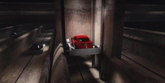 elon musk tunnel sotterranei per il traffico